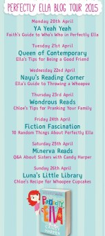Perfectly Ella blog tour banner