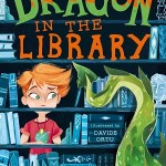 The Dragon in the Library by Louie Stowell, illustrated by Davide Ortu