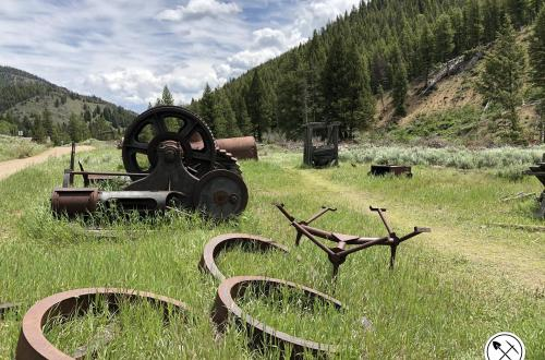 Custer Ghost Town, Custer, ID