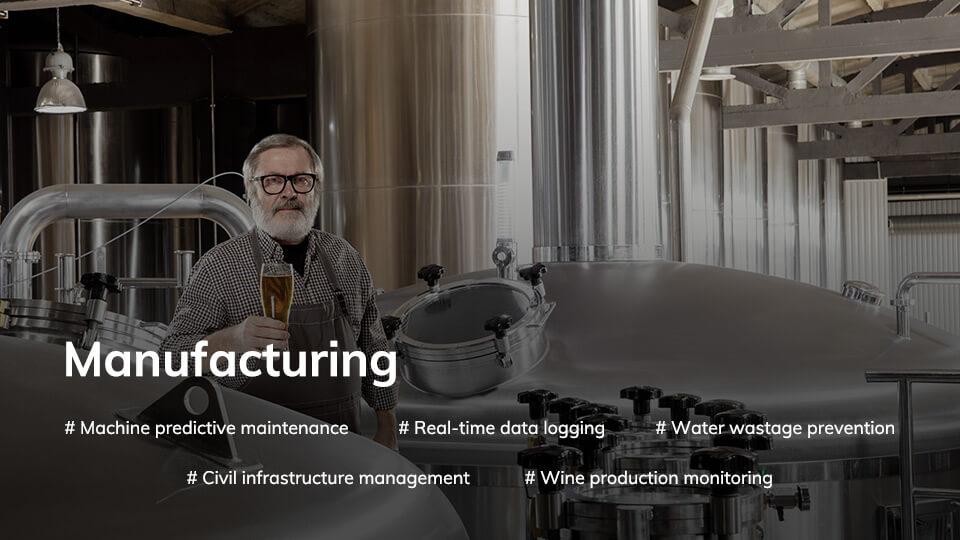 Wireless application scenario manufacturing