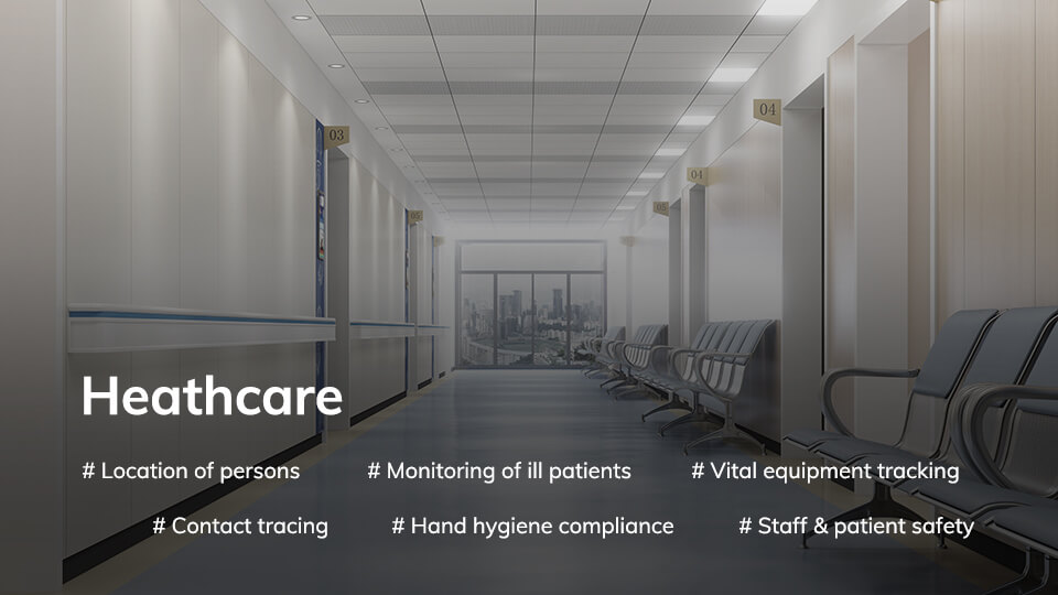 Wireless application scenario Heathcare