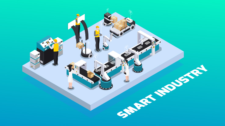 Indoor Positioning Advances the Smart Factory