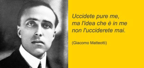 Giacomo Matteotti (10 Giugno 1924: giorno dell'assassinio)