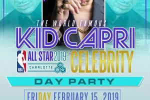 Kid Capri Charlotte All Star