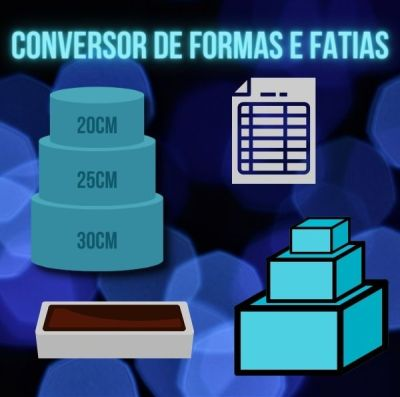 Conversor Fatias e Formas