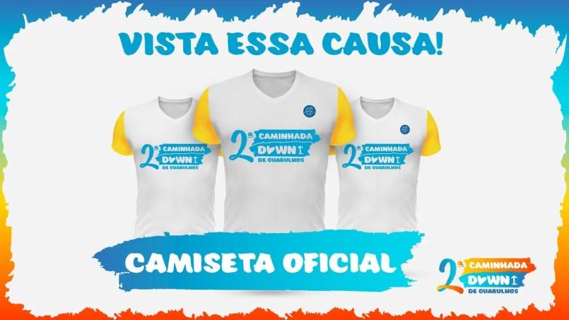 minha down é up, minhadowneup.com.br, camiseta oficial 2 caminhada down guarulhos