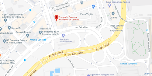 Consulado Italiano no Rio de Janeiro (RJ)