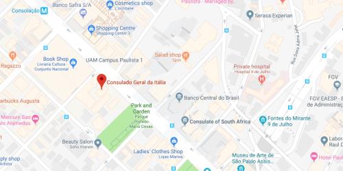 Consulado Italiano de São Paulo (SP)