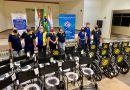 Rotary Club Centro adquire mais 32 cadeiras (roda e banho) ao Banco de Aparelhos Ortopédicos