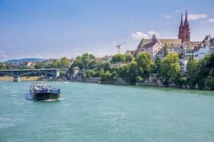 Bale depuis les rives du Rhin