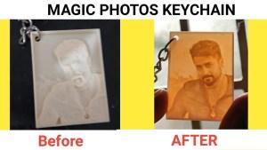 PHOTO KEYCHAIN - 3D PRINT KEYCHAIN