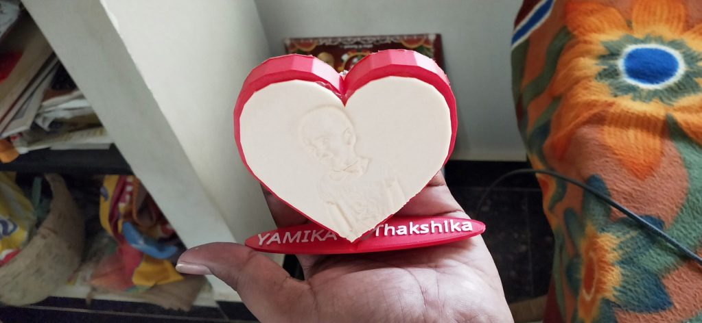HEART SHAPE 3D CUSTOMIZED GIFTS