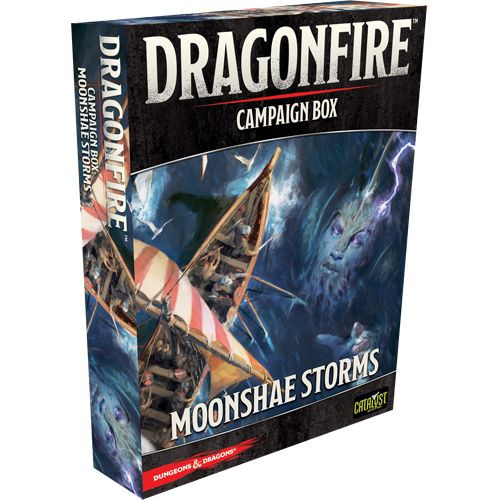 Image result for Dragonfire: Moonshae Storms Campaign Box