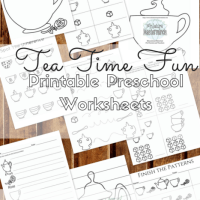 Tea Time Free Printable Pack