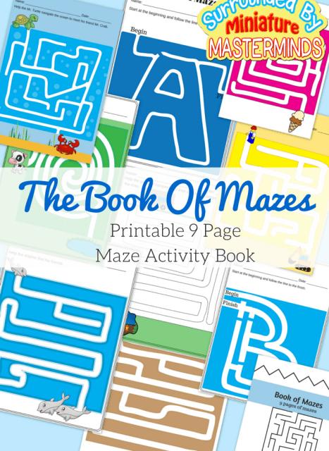 The-Book-Of-Mazes.-9-Maze-Activities.