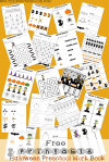 Free Printable Halloween Preschool Workbook