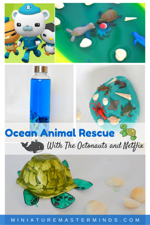 Ocean Animal Rescue With the Octonauts and Netflix