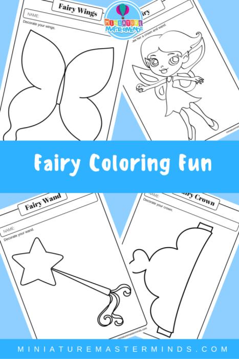 Fairy Coloring Fun