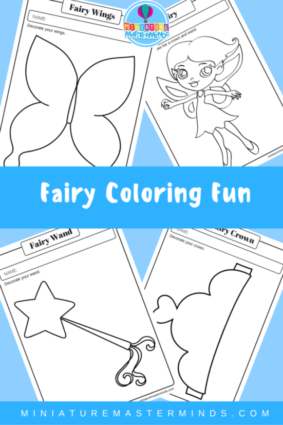 Fairy Coloring Fun