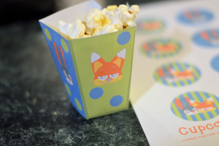 Zootopia on Netflix Viewing Party Free Printable Pack