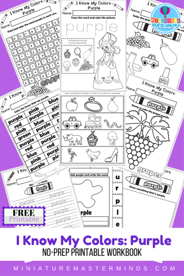 i-know-my-colors-series-purple-free-printable-no-prep-9-page-workbook