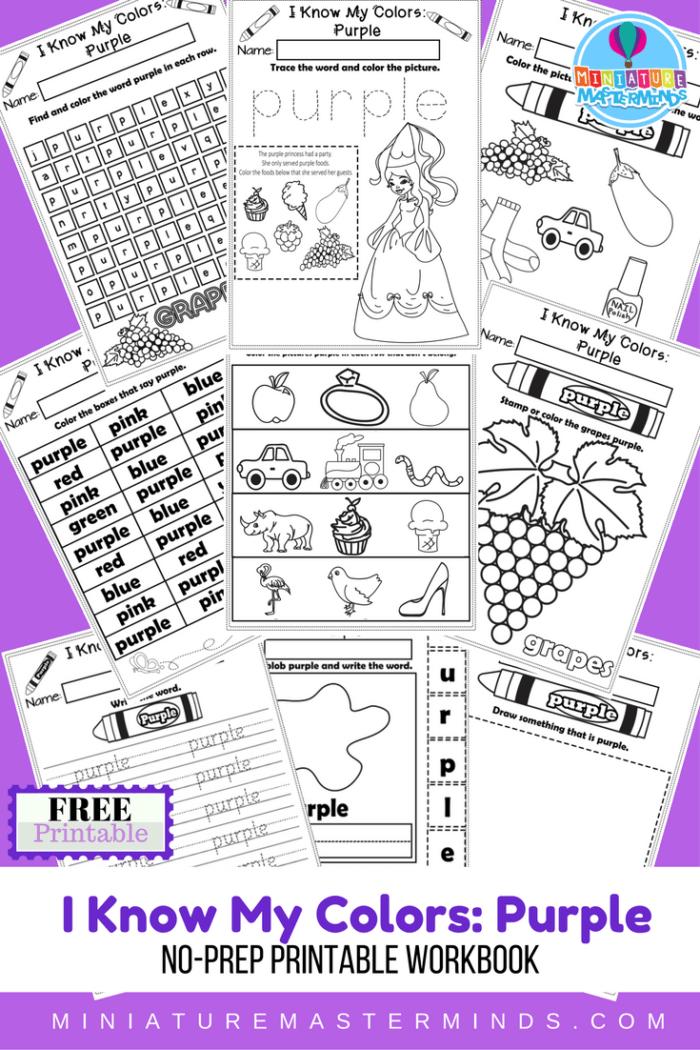 i-know-my-colors-series-purple-free-printable-no-prep-9-page-workbook