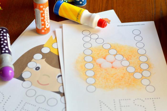 do a dot alphabet letter printables