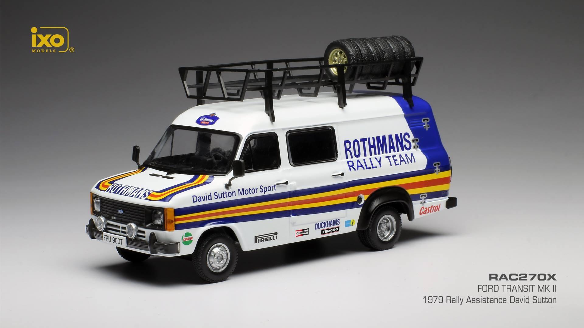 Ford Transit Mkii Rally Assistance David Sutton 1979 Ixo Rac270x