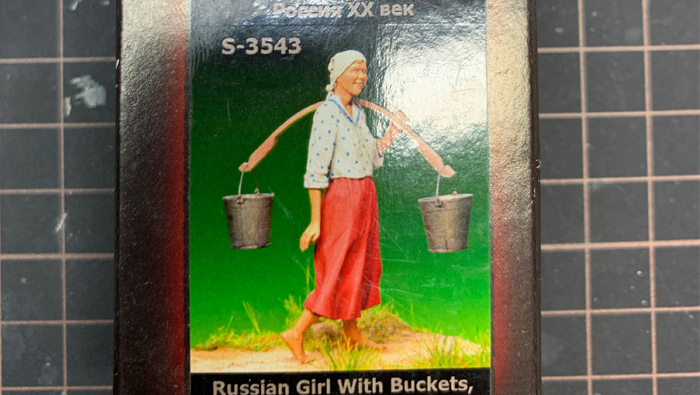 Russian Girl with Buckets – Musterung
