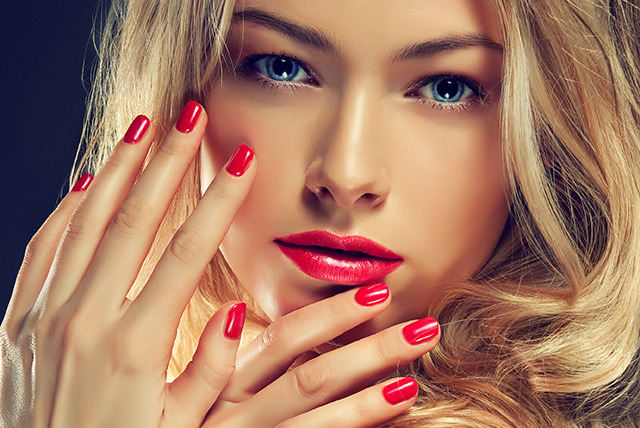 Get an Enchanting Red Manicure in Minutes Beauty Life