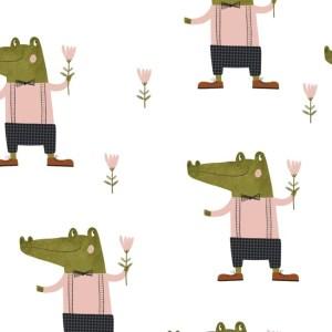 French terry - Crocolove Bio