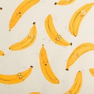 French terry - banana Bio