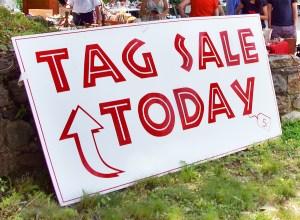 Weybridge Tag Sale! @ Weybridge Elementary School