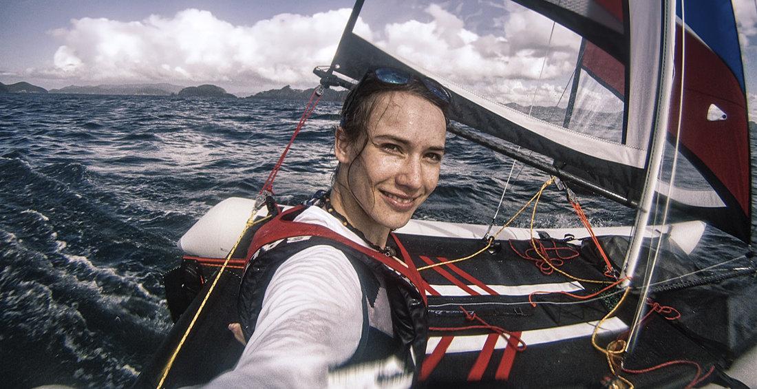 Laura Dekkers Favourite Inflatable Sailboat Minicat