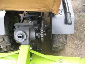 Почвофреза для мини-трактора из мотоблока