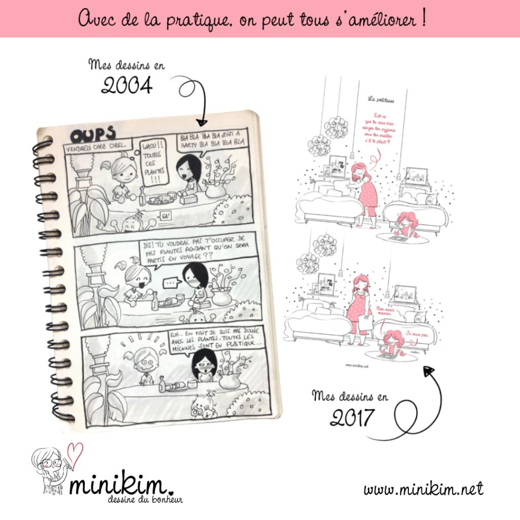Draw this again améliore-toi a=progresser en dessin être meilleur en dessin Dessiner et progresser