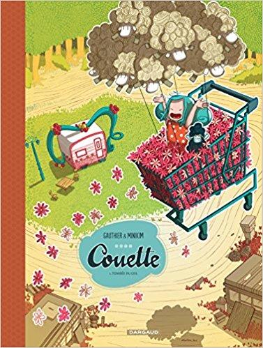 Bande dessinée, couette, dargaud, minikim, jeunesse, bonne BD, BD jeunesse,BD pour les enfants