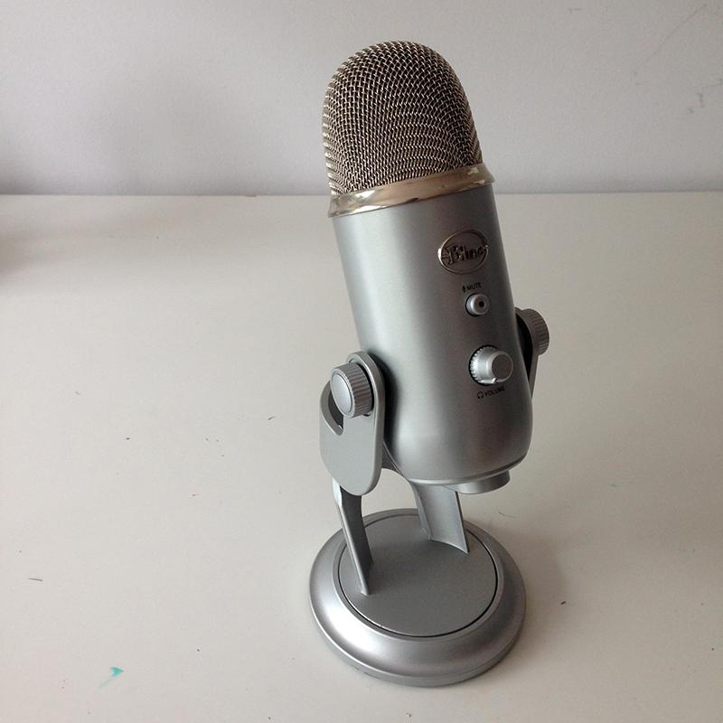 Podcast, baladodiffusion, blue yeti , blue, yéti, balado, minikim, podcast indépendant, enregistrement, micro, son, audio