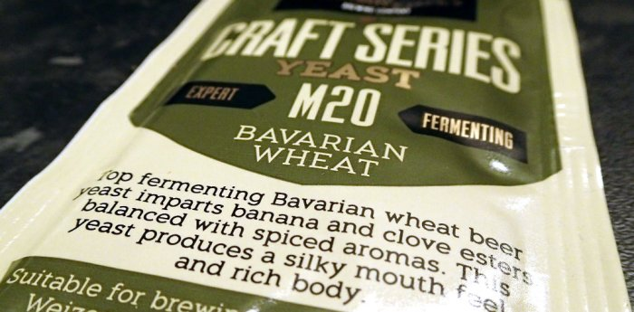 Bavarian wheat yeast by Mangrove Jack's