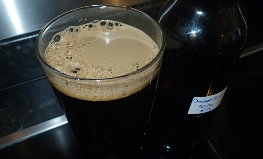 Black porter that is a bit too much of a stout