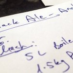 Black Ale BIAB – Almost there!