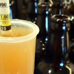 Bottling the Wheat beer