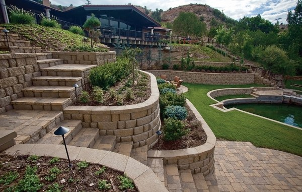 90 retaining wall design ideas for creative landscaping on Wall Ideas For Yard id=93864