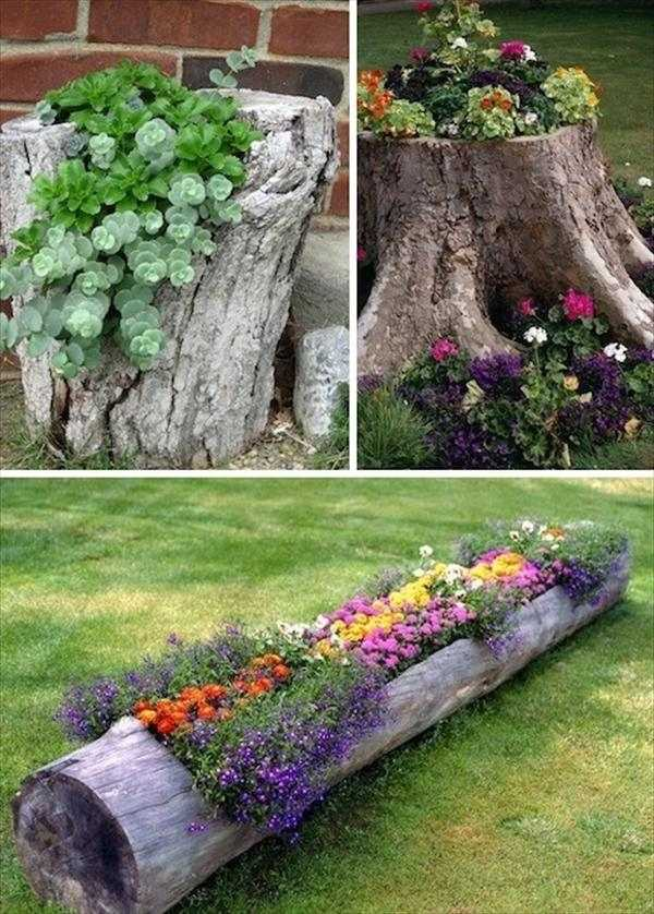 10 projects and ideas for homemade garden decorations with ... on Handmade Diy Garden Decor  id=90908