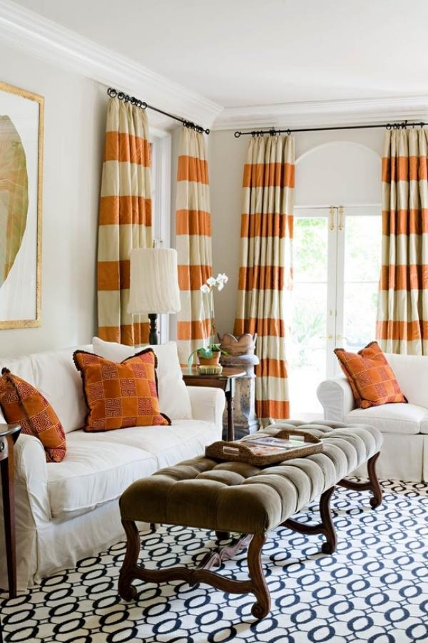 15 beautiful ideas for living room curtains and tips on ... on Living Room Curtains Ideas  id=12966