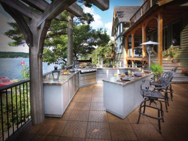 Build It Yourself Outdoor Kitchens
