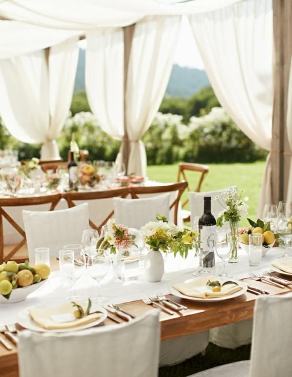 115 cheap and stylish ideas for DIY table decoration on Backyard Table Decor id=51241