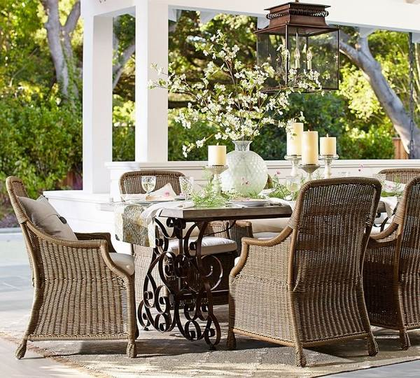 cottage style outdoor patio furniture 48 great ideas for outdoor dining furniture