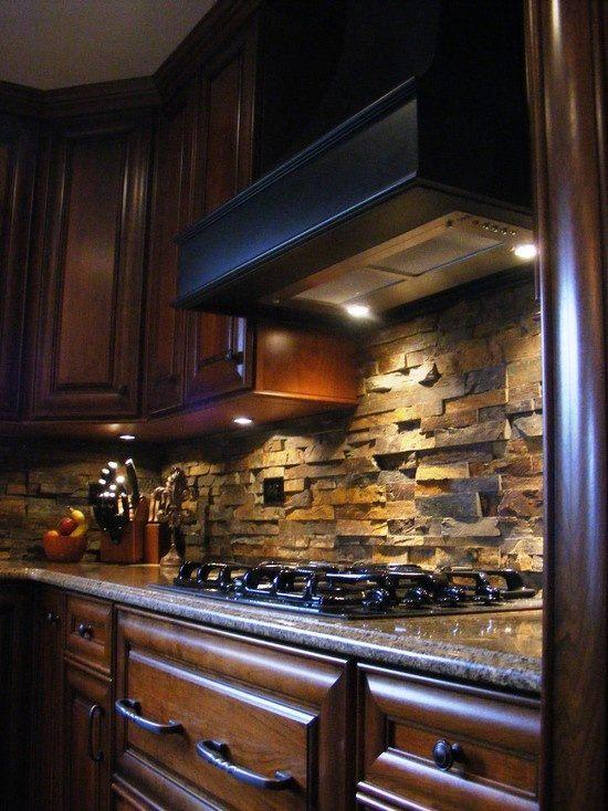 65 Kitchen backsplash tiles ideas, tile types and designs on Backsplash Ideas For Dark Cabinets  id=52008