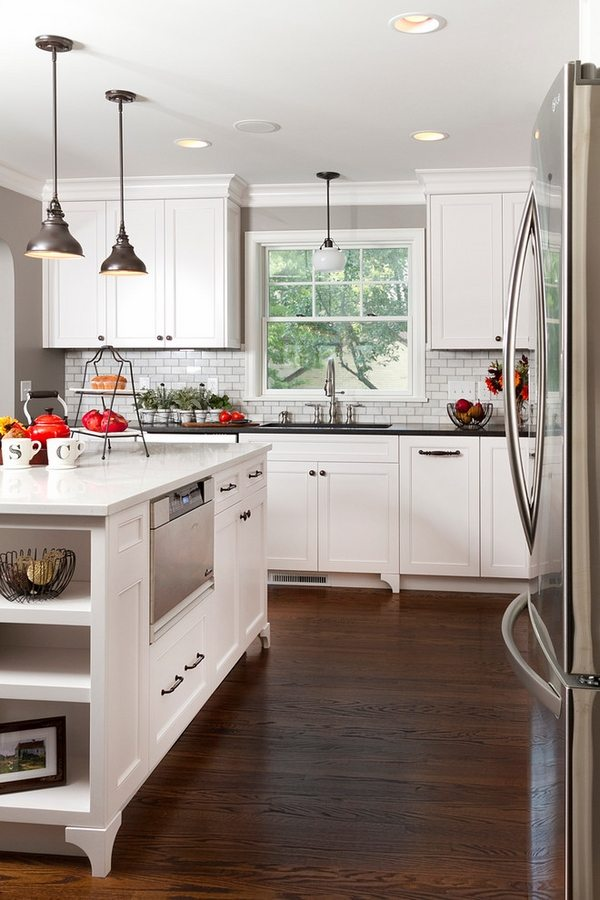 Shaker cabinets - Clean, simple, functional and visually ... on Small:xmqi70Klvwi= Kitchen Remodel Ideas  id=36127